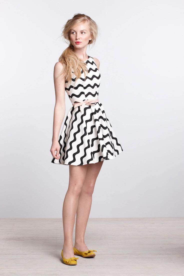 Waves Skater Dress: Fashion, Style, Clothes, Clothing, Anthropologie Com, Closet, Skater Dresses, Waves Skater, Wear