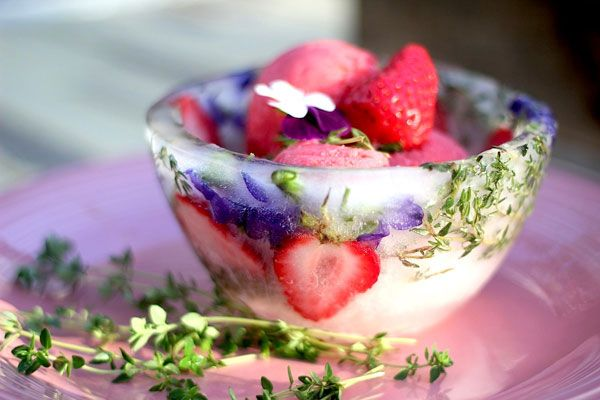 This easy strawberry rhubarb sorbet is one of my favorite ways to celebrate spring and the arrival of rhubarb! - Aube Giroux, PBS Food
