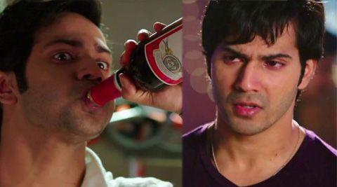 Method acting - Varun Dhawan got drunk for Humpty Sharma Ki Dulhania's climax