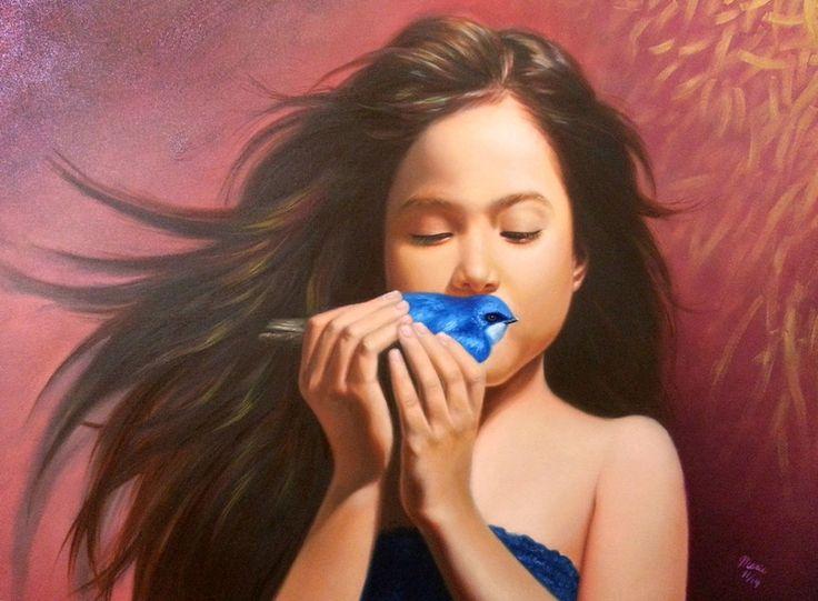 El rescate  100 x 80 cm  oil on canvas