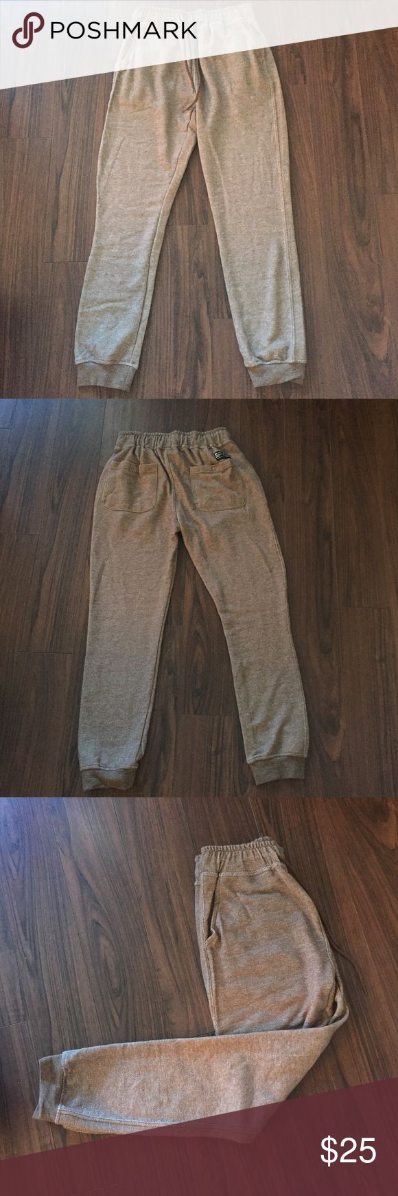 Light Brown Joggers Awesome Beautiful Giant Men's Joggers - Size Small. Never worn - new without tags. Not Pac Sun - tagged for exposure and vibes ✌️️ PacSun Pants Sweatpants & Joggers