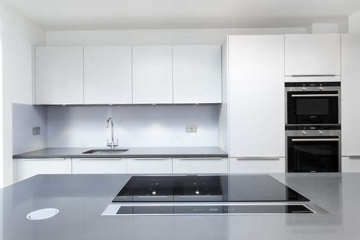 Quartz Kitchen Island Worktop With Induction Hob