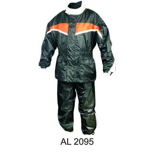 Men's Orange/Black Rain Suit