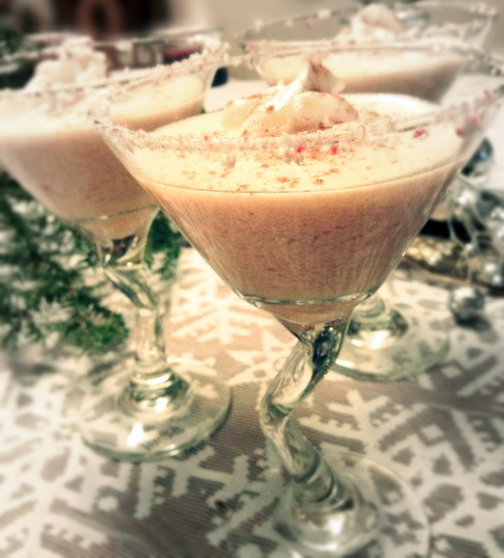 Peppermint Irish Cream Cocktails