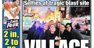 Selfie foran brændende bygning vækker forargelse i New York - Politiken.dk