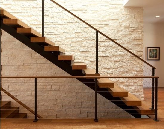 How To Brick Interior Staircase Wall   Google Search