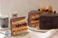 Торт шоколад-вишня-лимон. - СЛАДКОЕЖКА