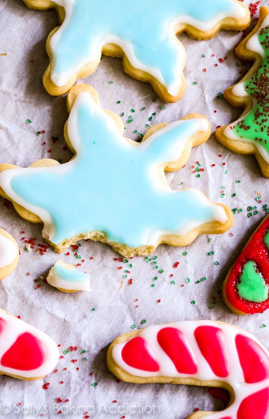 Holiday Cut Out Sugar Cookies With Easy Royal Icing Recipe By
