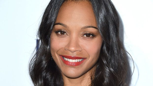 See Zoë Saldana's Artsy Photo of Her Husband and Twin Boys