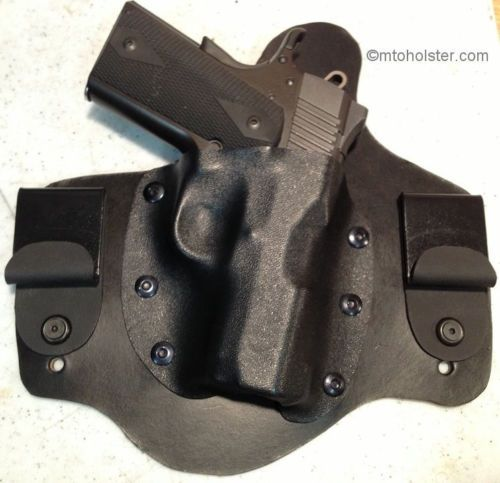 Kimber Ultra Carry II 1911 IWB Conceal holster CCW Leather ...