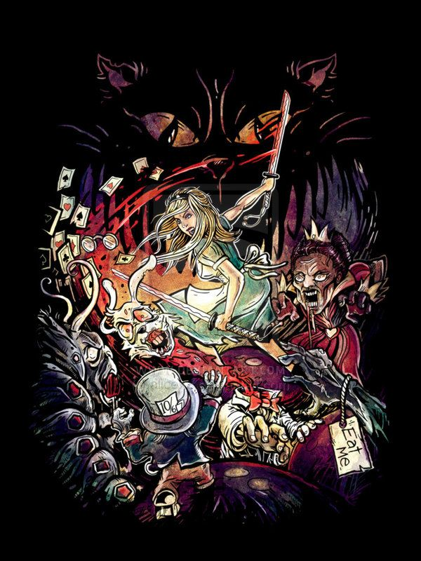 Alice in Zombieland by `alicexz on deviantART