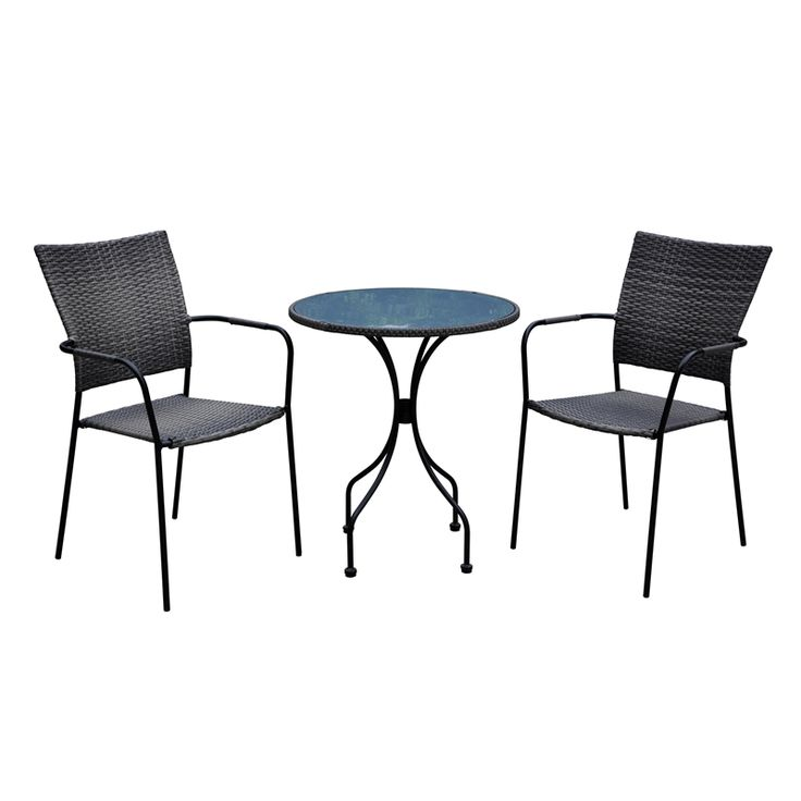 Mimosa 3pc Metal & Wicker Setting bunnings for $129