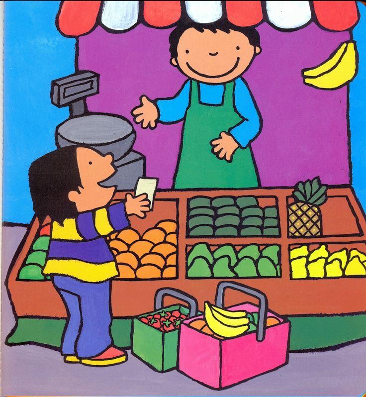 Anna eet graag fruit - prent 6
