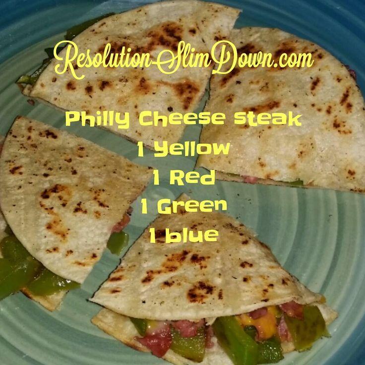 Resolution Slim Down: 21 Day Fix Philly Cheese Steak