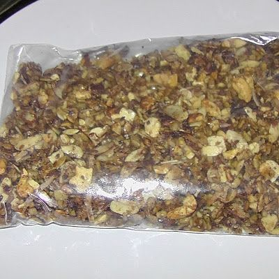 Wheat belly grainless granola @keyingredient