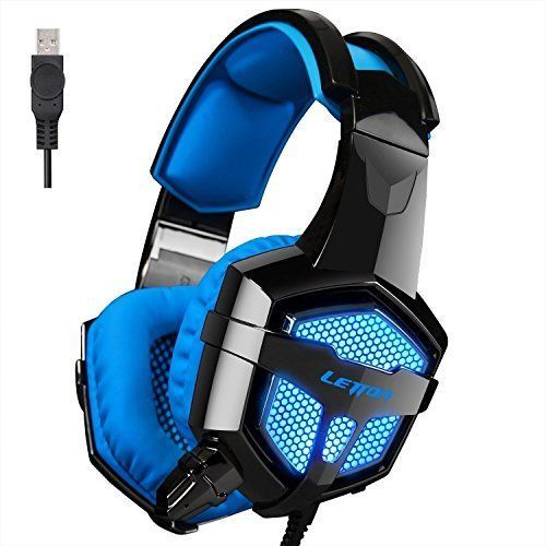 Headsets Version PC Gaming Subwoofer Mic Vibration Integrated For PC Mac Laptop #LETTON