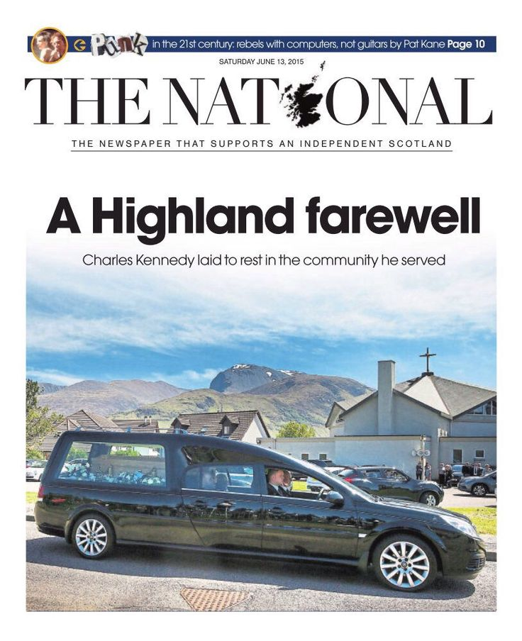 Scotland says farewell to a favourite son, Charles Kennedy