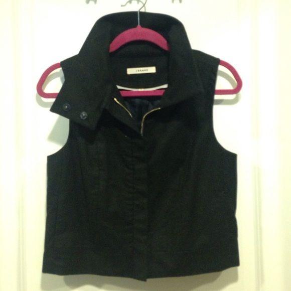 J Brand Vest J Brand, size 2, button vest with high collar J Brand Jackets & Coats Vests