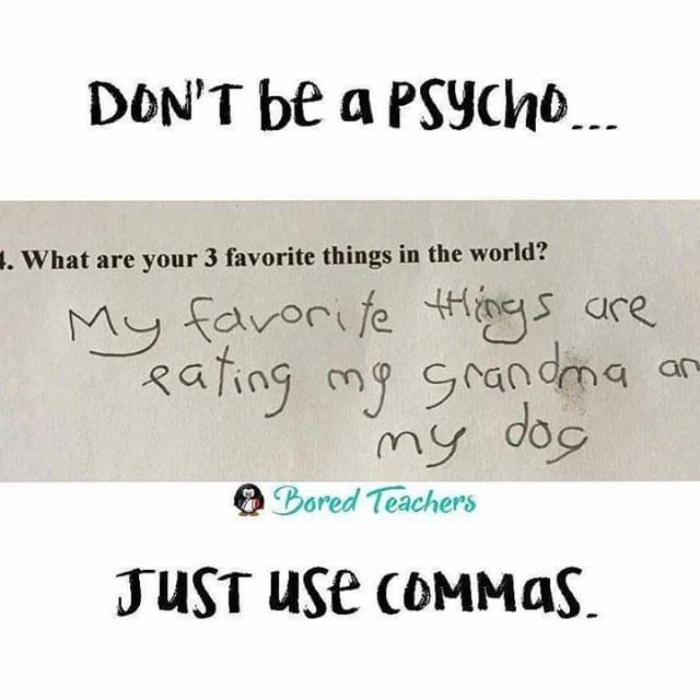 Grammar Matters Bored Teachers Teaching Humor Teacher Jokes