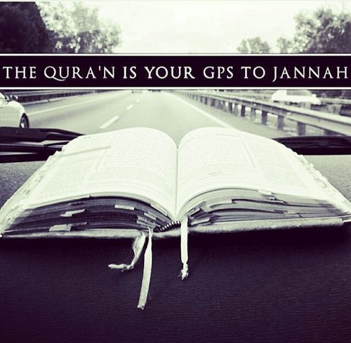 Want to know how to get to Paradise? Pick up the Quran...all the directions are in there.