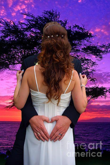 Sunset Wedding.