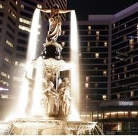 Fountain Square and Tyler Davidson Fountain in Downtown Cincinnati