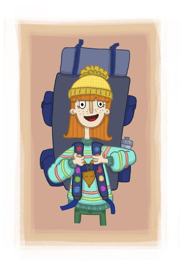 Backpacker!! :D
