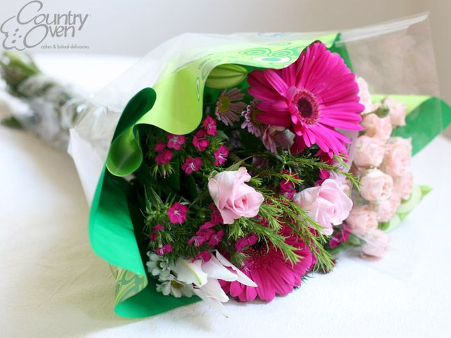 Purchase flower bouquets for birthdays, weddings and other extraordinary events at countryoven.com.