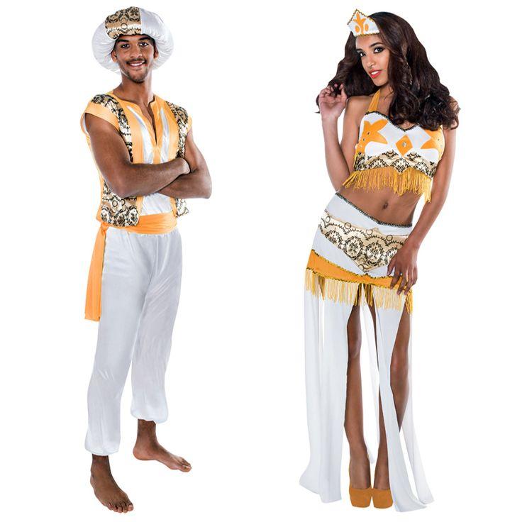 pareja disfraces reyes arabes