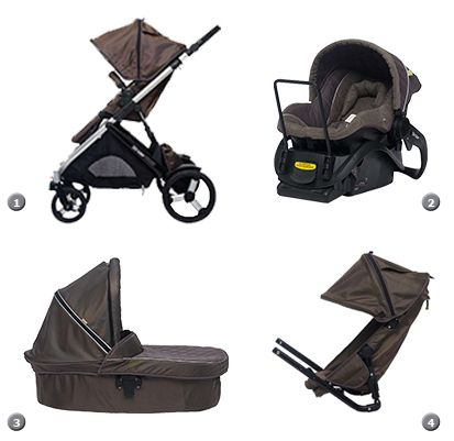 Travel System - Strider Plus Pram Stroller - Steelcraft Britax