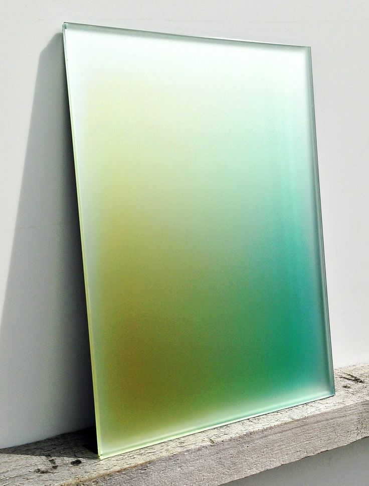 Experiments with Coloured Glass (Germans Ermics)