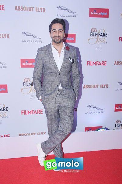 Ayushmann Khurrana at Filmfare Glamour & Style Awards 2015 in Mumbai