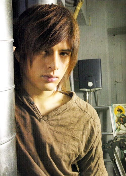 yuu shirota  - he is model for main character in my other book series