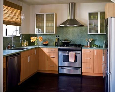 To Offset Their Expense, The Homeowner Used Laminate Cabinets From Ikea  (which Uses Eco Friendly Manufacturing And Shipping Practices).