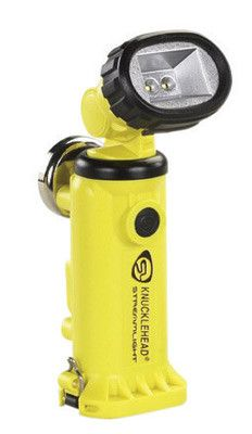 Streamlight Yellow Knucklehead Rechargeable Work Light (4 AA Alkaline Batteries Included)