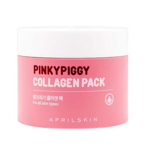 April Skin의 에이프릴스킨 핑키피기 콜라겐 팩. 이 마스크팩 사용해보신 적 있으신가요?   이 화장품에는 43개의 성분이 포함되어있고,EWG등급이 3~6인 성분 Tocopheryl Acetate, Sodium Polyacrylate가 들어있어요.   이 성분들은 자주 쓰게 되면 인체에 영향을 미치는 좋지 못한 성분들이예요.피부를 위한 마스크팩, 앞으로는 성분도 꼭 체크하세요.건강한 피부를 위해 화장품성�