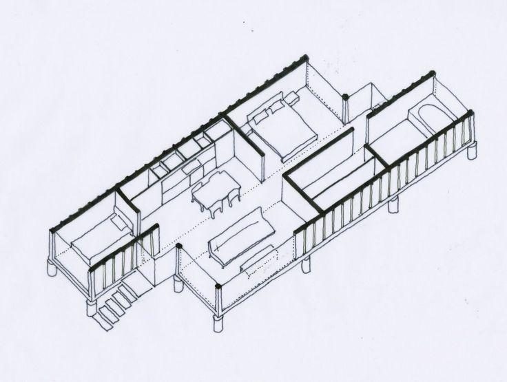 Les 761 meilleures images du tableau maisons containers for Maison container gard