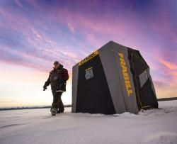 Frabill Revolutionizes the Portable Ice Shelter : The Fishing Wire