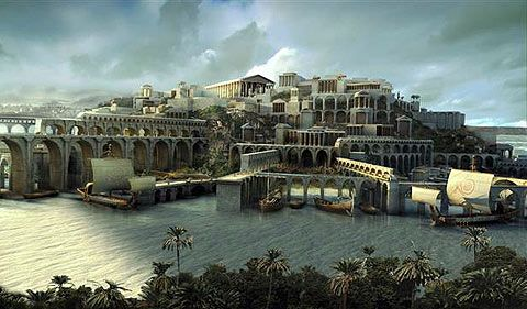 Atlantis City Under the Sea | Scientists think they've found the lost city of Atlantis -- which got ...