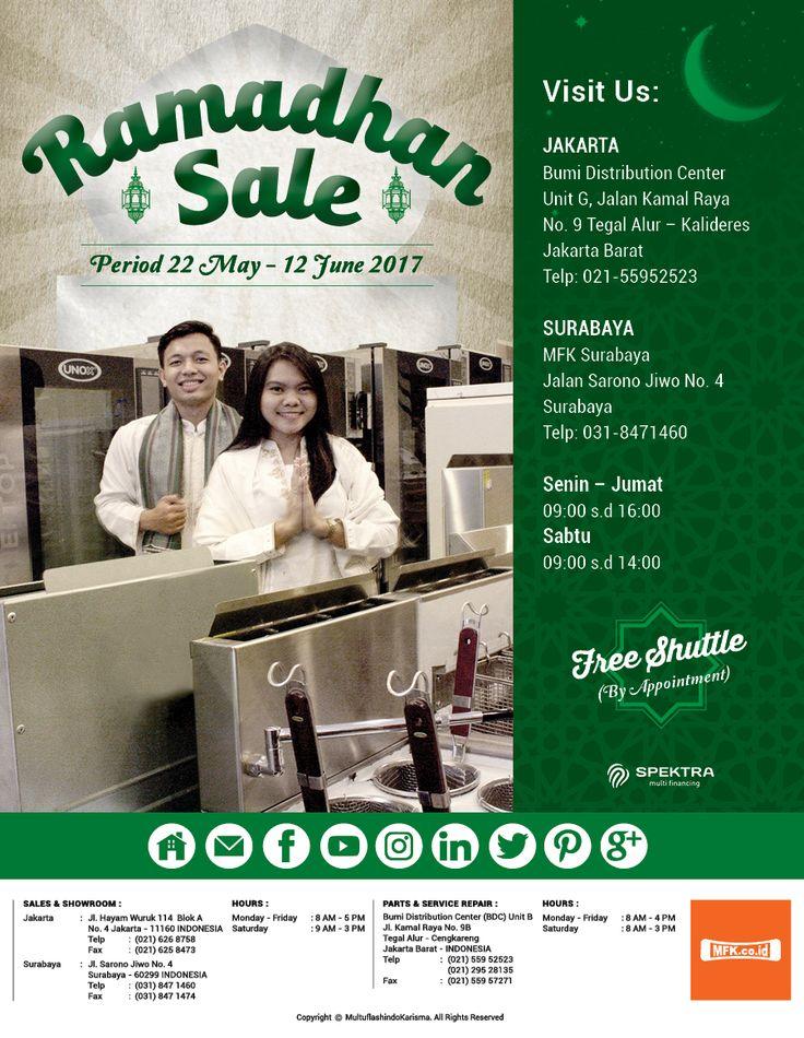 Mark Your Calendar & Don't Miss It !!! Ramadhan Sale 22 May - 12 June 2017 Jakarta and Surabaya. Are you ready ! #RamadanSale