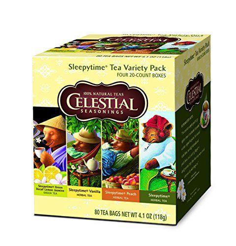 Celestial Seasonings Sleepy Time Tea Variety Pack, 80 count - http://mygourmetgifts.com/celestial-seasonings-sleepy-time-tea-variety-pack-80-count/
