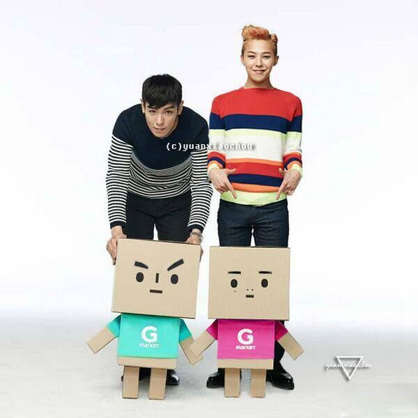 TOP & G-Dragon ♥