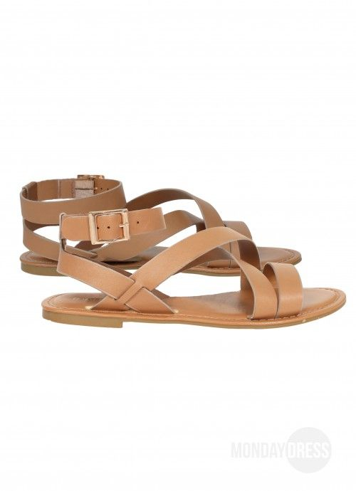 Drifting Away Strappy Sandals | Monday Dress Boutique