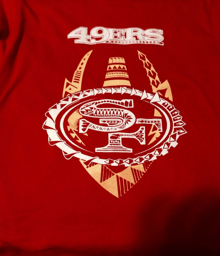 My 49ers Polynesian Design Niners Pinterest See