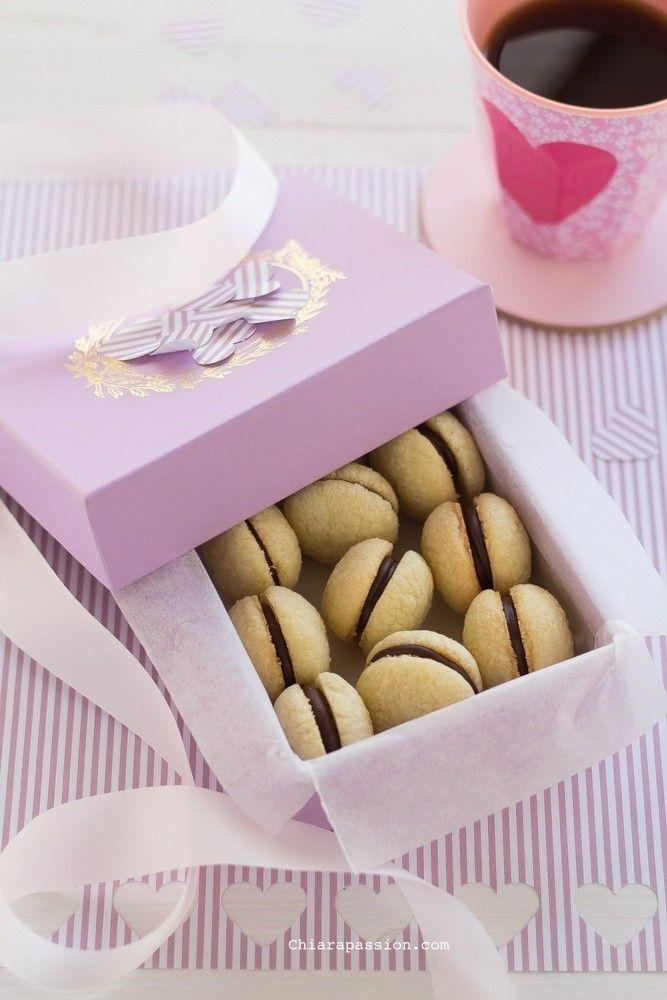 ricetta Baci di Dama, Valentine's day recipe cookies