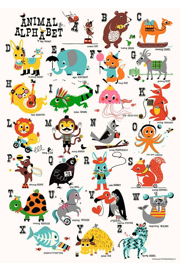 original_animal-alphabet-children-s-nursery-print.jpg 616×900 pixels