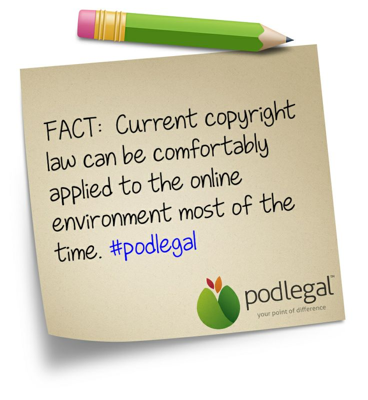 The facts about copyright #IP #copyright #podlegal