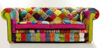 Risultati immagini per rivestire divano patchwork