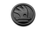 Fabia II - original Skoda MONTE CARLO black emblem - REAR : superskoda.com