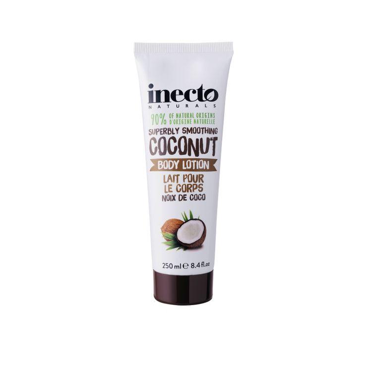 Inecto Naturals Coconut Body Lotion 100 % ekologisk kokosolja. Veganvänlig! Köp hos Ecoliving.se